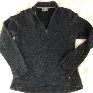 Smartwool Women's Quarter Zip Pullover Size M